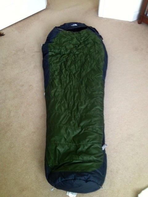 391e3b0d5 FS: North Face Snowshoe 0* bag - Backpacking Light