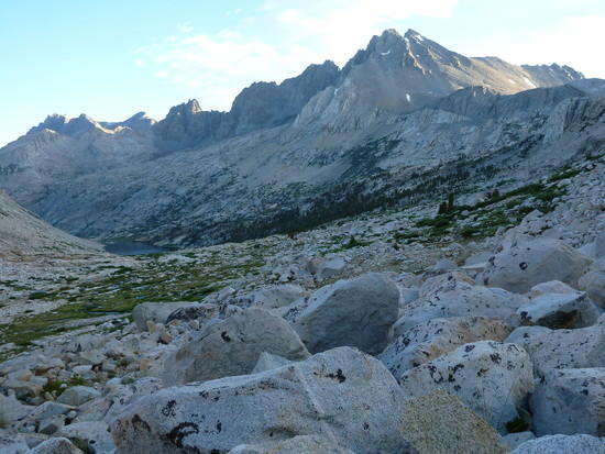 View from Mather Pass