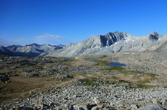 South of Mather Pass
