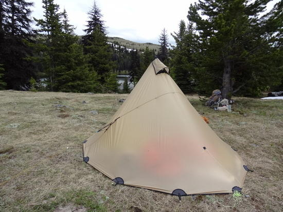 The Tigoat Vertex 5 is also worthy of consideration. Conical shape makes it very wind resistant and it only weighs 24 oz including pegs. & Most storm worthy trekking pole tent? - Backpacking Light