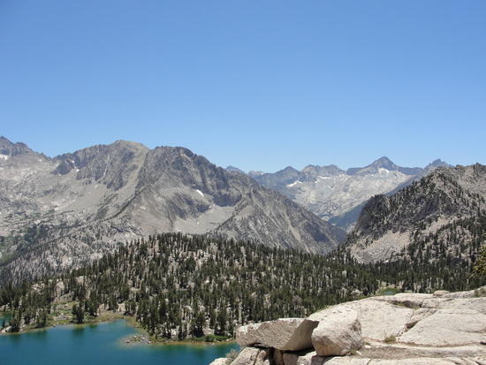 Above Bullfrog Lake