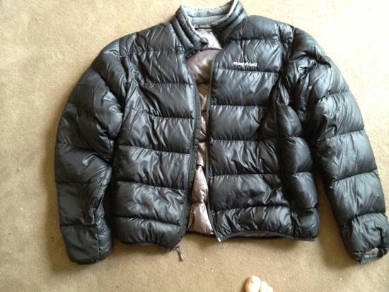 Montbell Alpine light Mens' Down Jacket- Size XL - $100