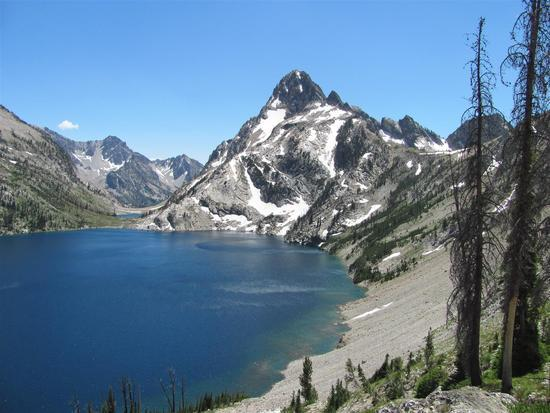 1st View Sawtooth lake 2