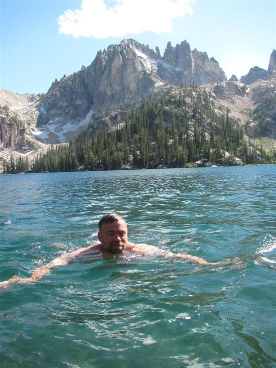 Swimming Cramer Lakes