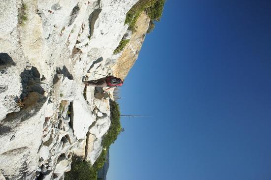 Libby uphill