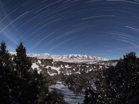 Timelapse stitched in startrails.exe