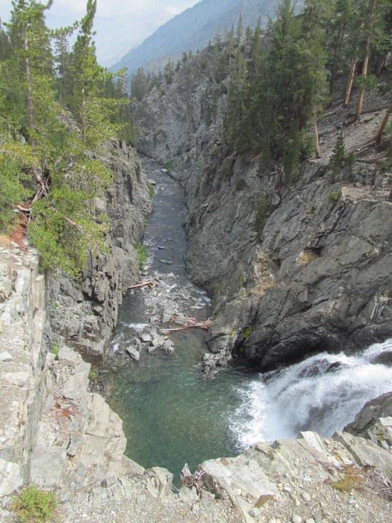 Waterfall in Goddard Canyon