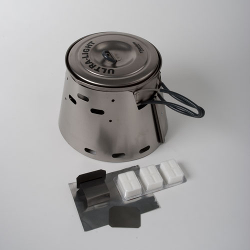 Trail Designs stove with Esbit