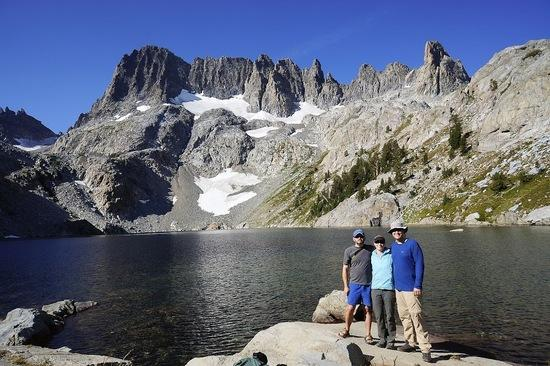 Group Shot at Iceberg Lake