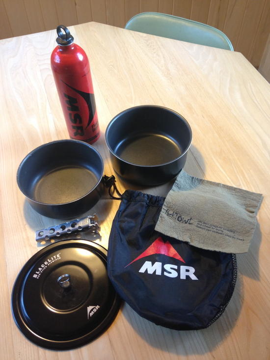 MSR cookset