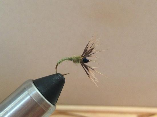 Turkey Biot Body w/Hare's Ear Dubbing on Daiichi 1250 Size 12