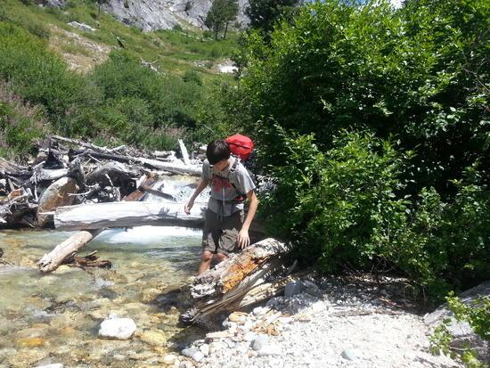 Cross NF Baron Creek