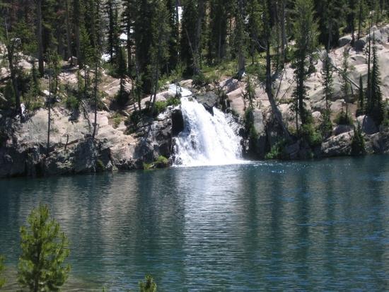 Cramer Lake Falls