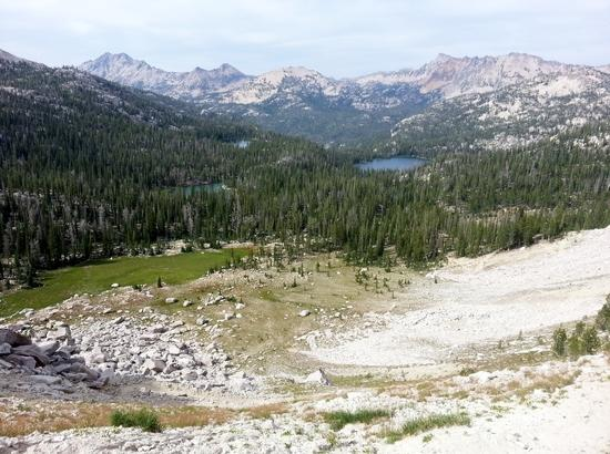 North View from Cramer Divide