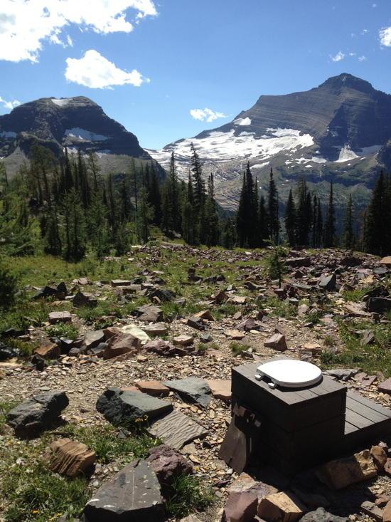Boulder Pass pit toilet