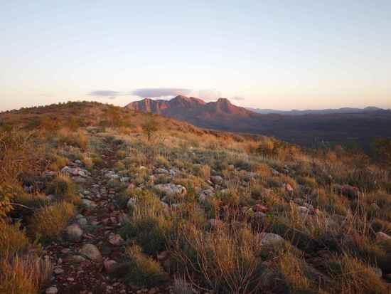 Mt Sonder Sunrise