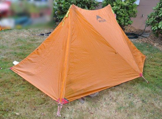 MSR Twin Peaks shelter