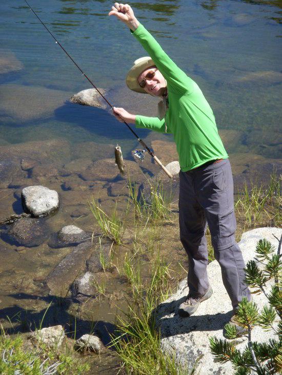 Lake 9530 trout!