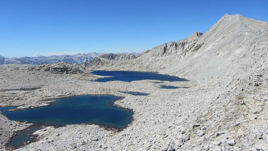 Looking west to upper Gardiner Lakes.