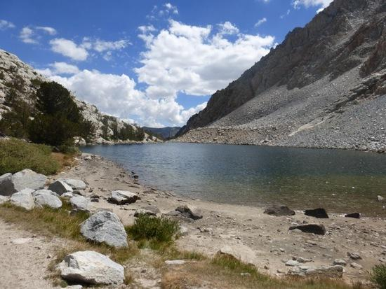 Piute Lake on the way to Piute Pass