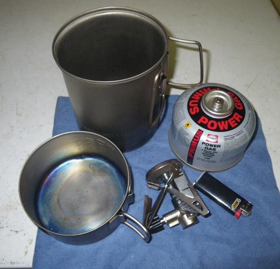 Contents of cookset