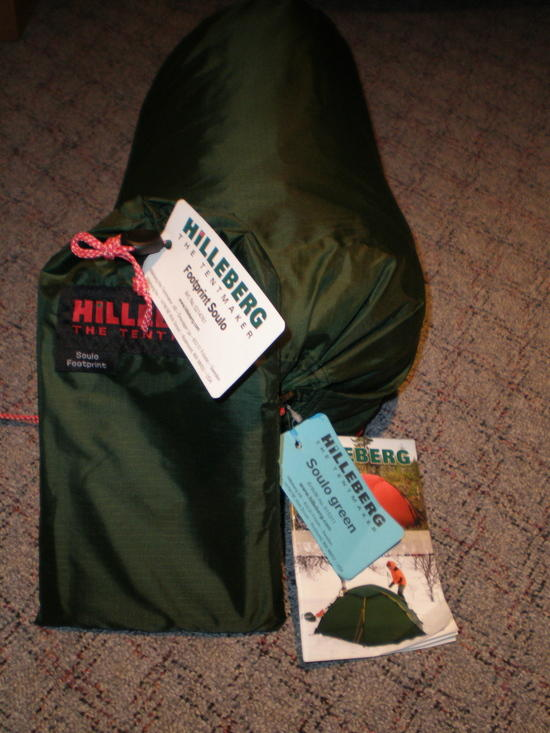 Hilleberg Soulo and Footprint