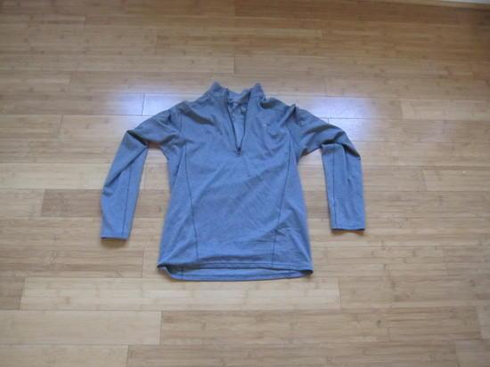 Patagonia Capilene 1/4 Zip Gray