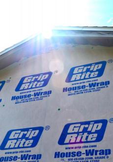 FS - Tyvek (Grip Rite) House Wrap - 9' Width - Backpacking Light