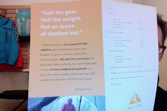 Enlightened Gear vision statement (now the Sierra Designs vision statement)