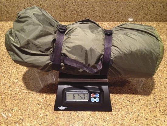 REI QD T2 - trail weight