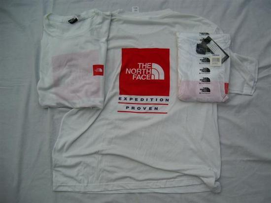 TNF Tec Wear Logo T, medium. 10.00