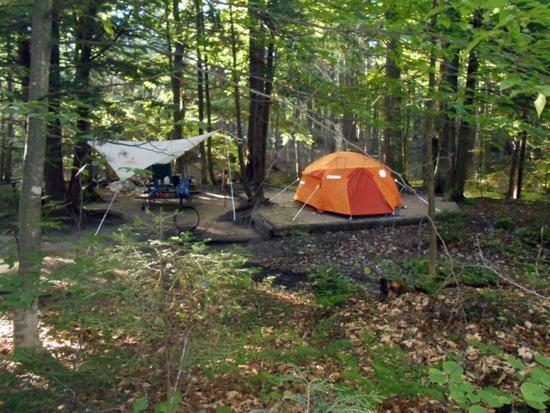 Marmot Halo 4 camping