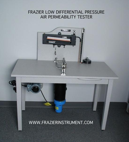 Frazier Differential Air Permeability Meter