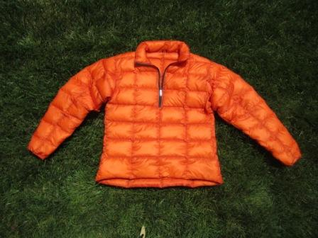 First down pullover