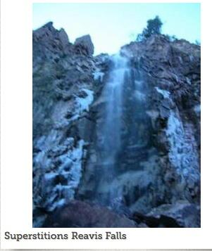 Icy Reavis falls
