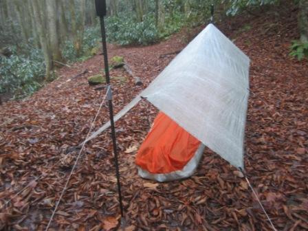 tarp and bivy 2
