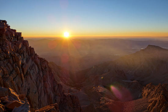 Sunrise from Mt. Whitney