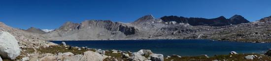 The Goddard Divide and Wanda Lake