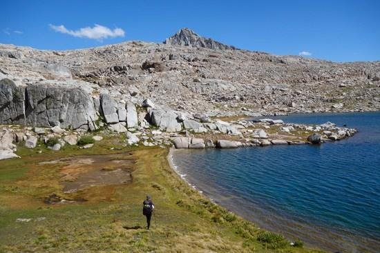 Crossing the Palisade Basin