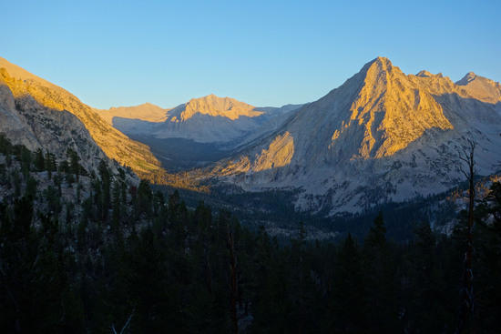 Vidette Peak and Vidette Meadow