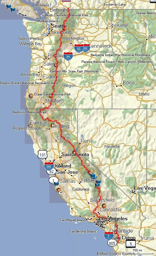 PCT _ GPX trail and map coverage