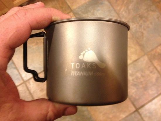 Lite Trail / Toaks Mug