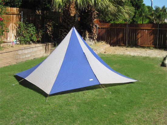 pyramid tipi look & Pitching a pyramid tent - Backpacking Light