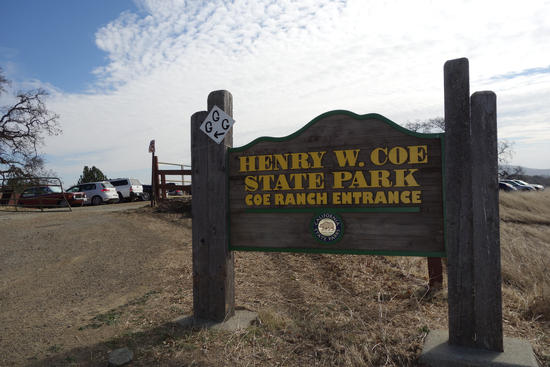 Henry Coe Park SIgn