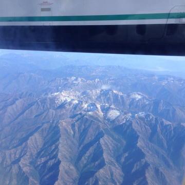 Aerial Trinity Alps