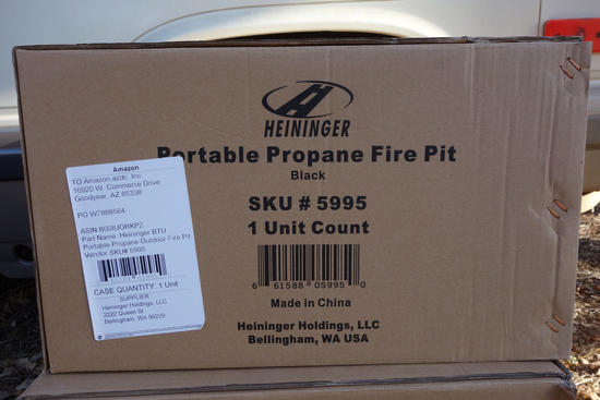 A Generous Donation of Fire Pits