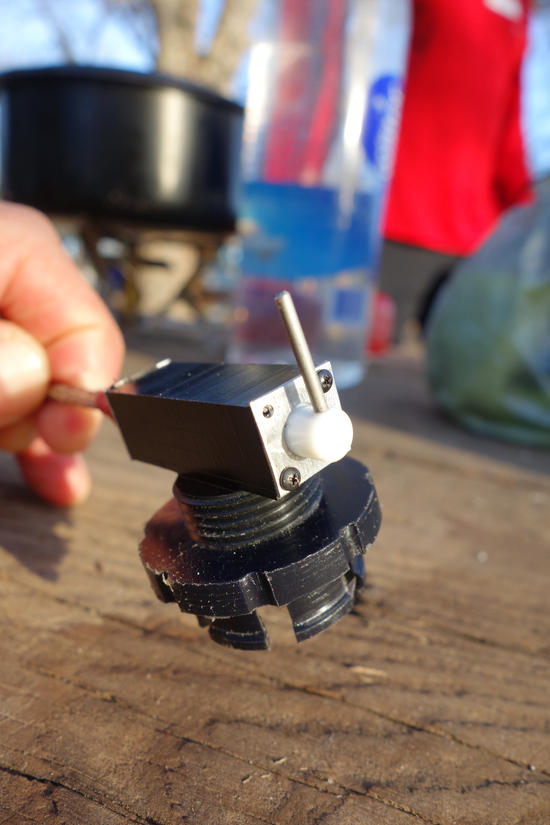 Roger Caffin Winter Remote Canister Stove 8