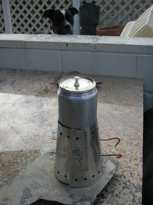Pot stove & screen