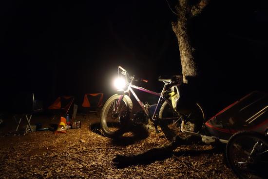 Bike and a Lantern