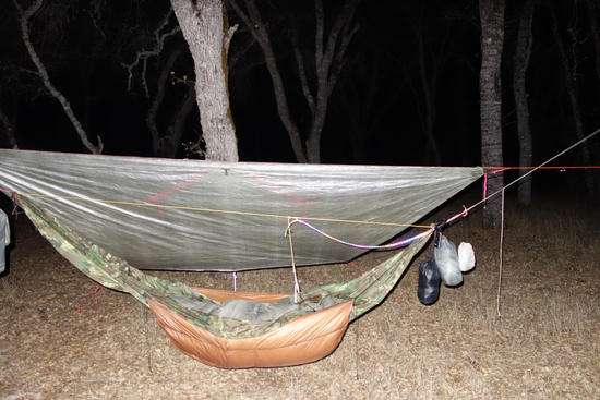 Hammock with LED Lighting